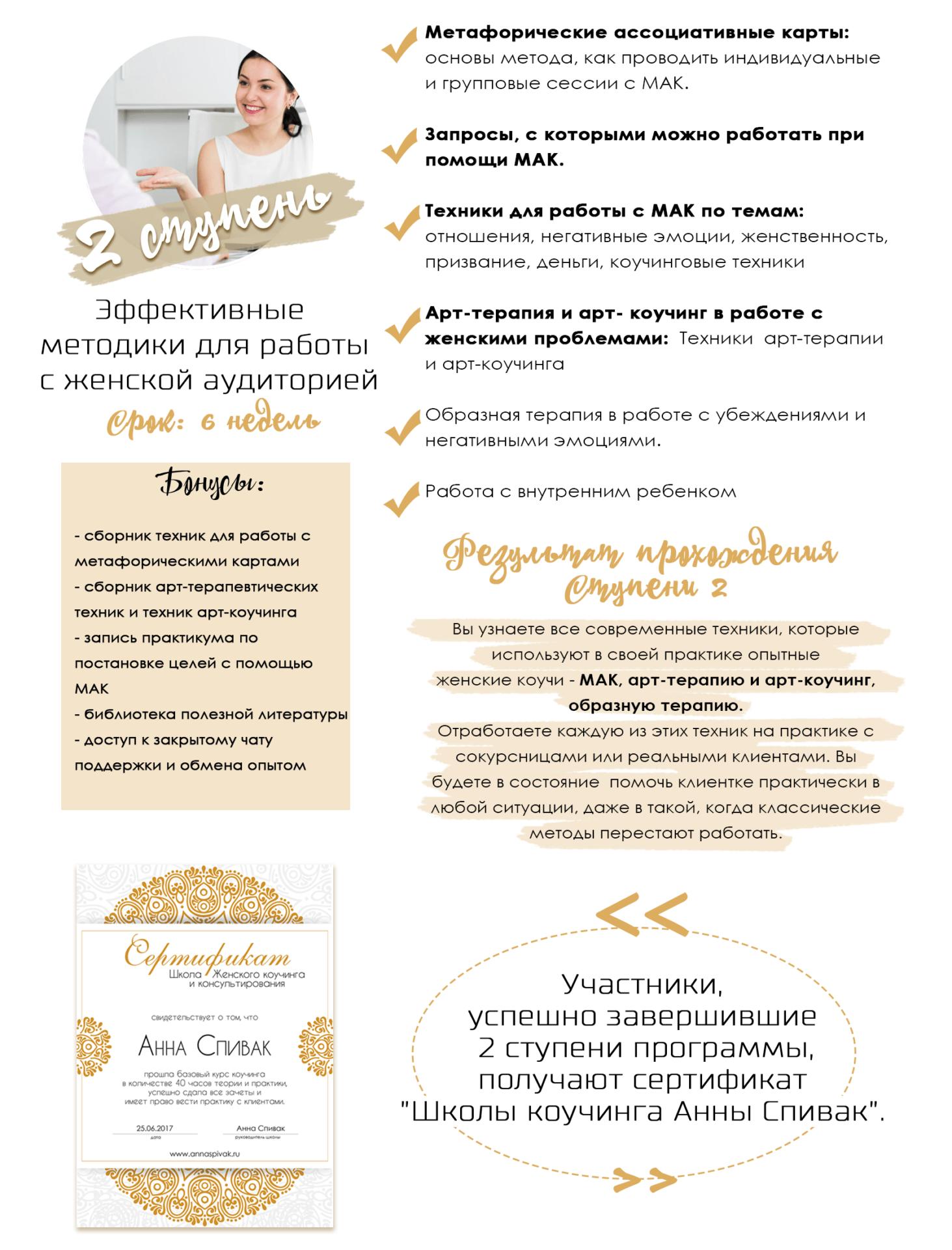 Школа женского коучинга и консультирования